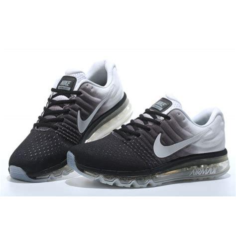 Sepatu Sport Nike Airmax Black White 3 nike air max 2017 black and orange