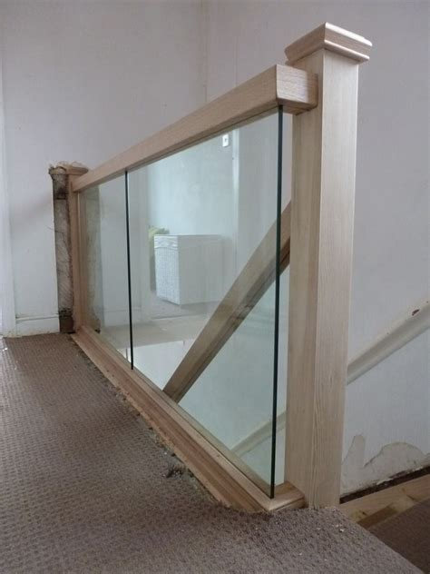 replace spindle banister with glass search