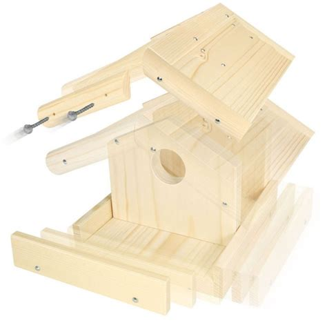 wandlen aus holz selber machen vogelhaus bausatz aus holz vogelhaus basteln basteln