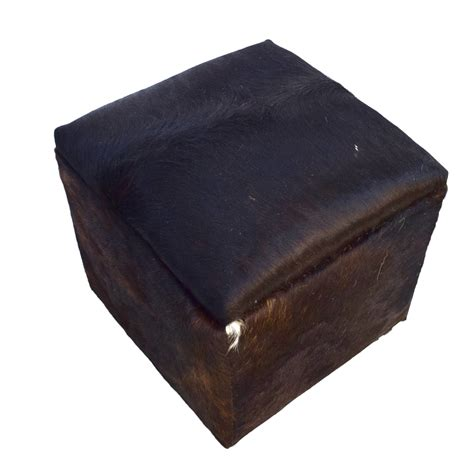 Cowhide Cube Ottoman Taxidermy Mounts For Sale And Cowhide Cube Ottoman