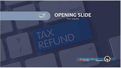 Free Tax Refund Powerpoint 48367 Sagefox Powerpoint Tax Ppt Templates Free