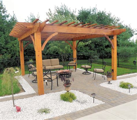 Patio Pergola by Custom Made Arbors Trellises Pergolas Dayton Ohio