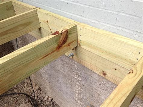 Porch Hangers joist ledger question doityourself com community forums
