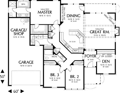14 Best Images About House Plans On Pinterest House Plans 3 Bedroom 2 Bath Car Garage
