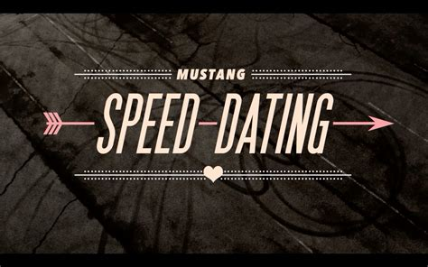 8 Tips On Speed Dating by Mustang Speed Dating The Shorty Awards