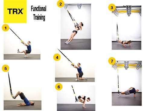 exercise and trx on