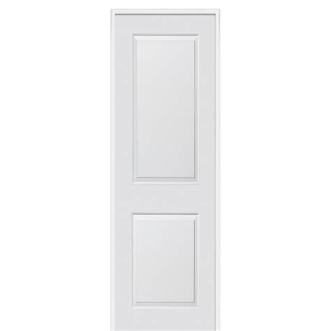 Carrara Interior Door Mmi Door 36 In X 96 In Smooth Carrara Left Solid Primed Molded Mdf Single Prehung