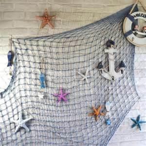 net decor 1 5x2m decorative fish net nautical photo prop wall
