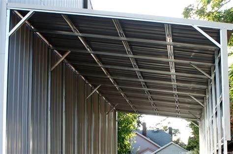 west coast metal buildings lean  covers carports