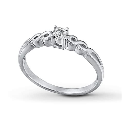 Promise Ring Picture Promise Ring Cut Sterling Silver