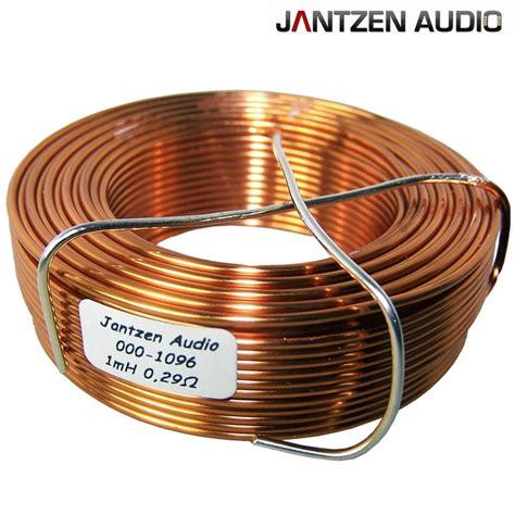 wire coil inductance jantzen air wire coils hifi collective