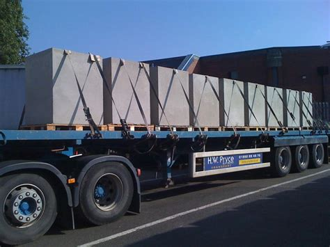 Flatbed Curtain Side Trailers Hw Pryce And Son Ltd Pictures Flat Bed Trailer Low