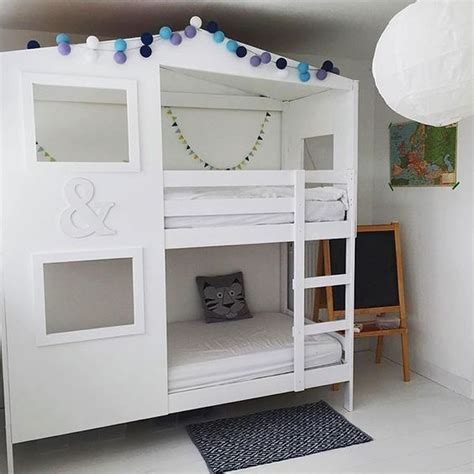 Ikea Bunk Beds Hack Best 25 Ikea Bunk Bed Hack Ideas On Pinterest Kura Bed Hack Kura Bed And Kura Hack