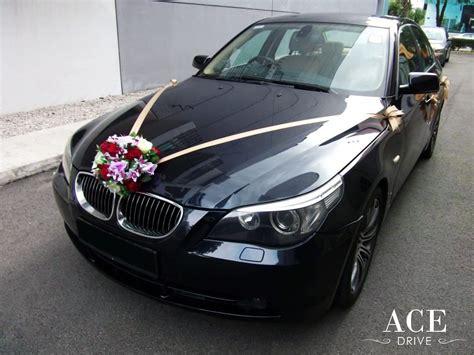Wedding Car Bmw by Bmw 523i Saloon Wedding Car Decorations
