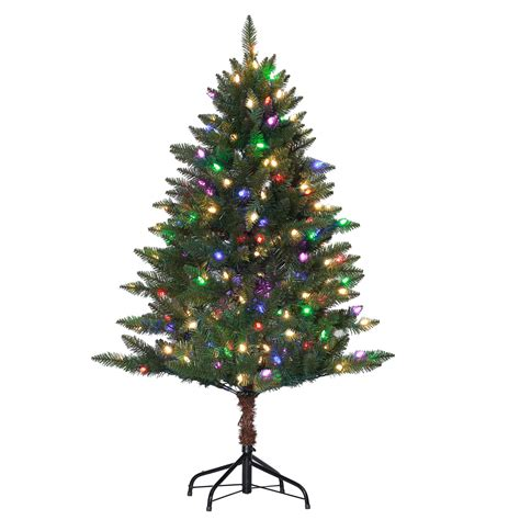 4 5 pre lit diamond peak christmas tree kmart