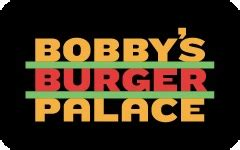 Shoe Palace Gift Card Balance - buy bobby s burger palace gift cards at a discount giftcardplace