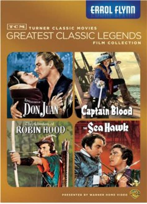 Turner Classic Movies Gift Cards - tcm greatest classic films legends collection errol flynn by turner classic movie