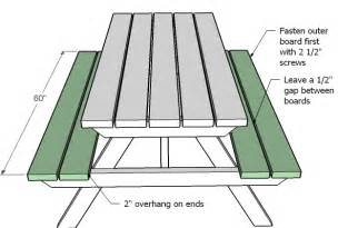 10 Foot Dining Room Table Ana White How To Build An Picnic Table Diy Projects