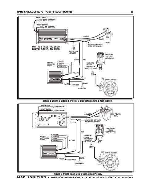 msd 7al 2 ignition wiring diagram