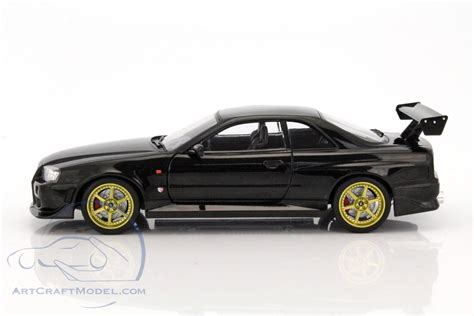 nissan r34 black nissan skyline gt r r34 year 1999 black 19030 ean