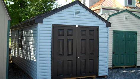 storage buildings storage sheds  vinyl  frame