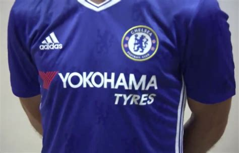 chelsea new kit 2016 17 chelsea reveal new kit for 2016 17 with eden hazard and