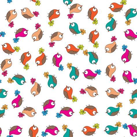 doodle bird free vector doodle birds pattern vector free