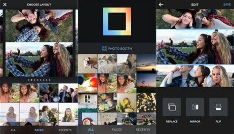 layout collage e fotoritocco in un unica app iphone italia instagram layout nuova app per creare collage di foto