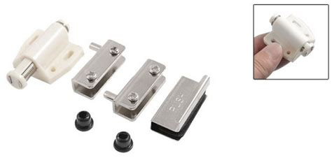 Magnetic Catches For Glass Doors Glass Cabinet Door Single Magnetic Catch Stopper W Cl 2sets In Cabinet Catches From Home