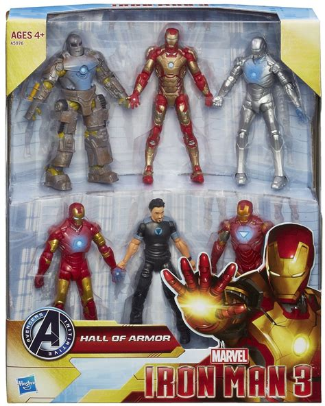 Figure Iron Set Of 3 hasbro iron 3 of armor figures exclusive up for