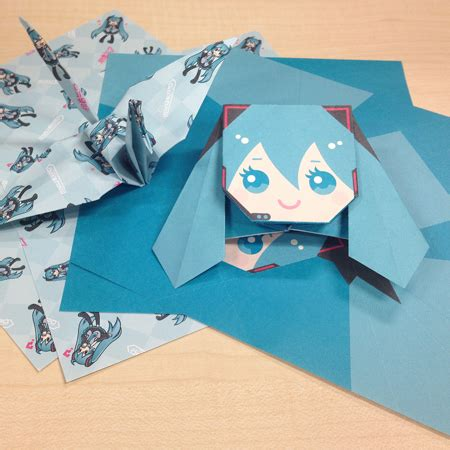 Origami Exhibit - hatsune miku expo 2014 in indonesia exhibition