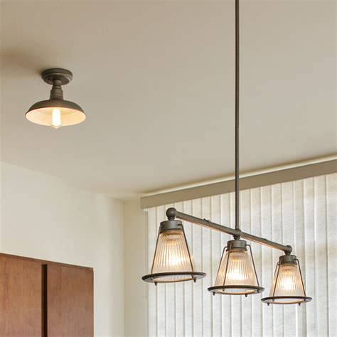 Hanging Light Pendants For Kitchen Design House Essex 3 Light Kitchen Island Pendant Reviews Wayfair
