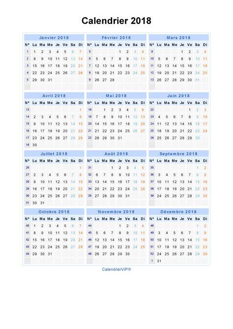 Calendrier 2018 Pdf Calendrier 2018 224 Imprimer Gratuit En Pdf Et Excel