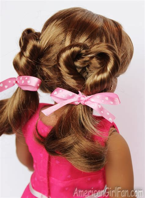 valentines hairstyles doll hairstyle s day pigtails