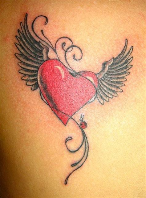 finger tattoo wings best 20 red heart tattoos ideas on pinterest feather