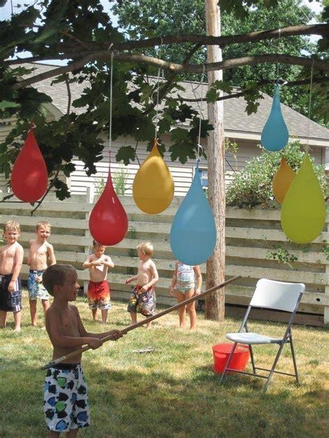 Backyard Balloon 25 Best Ideas About Outdoor Water Activities On