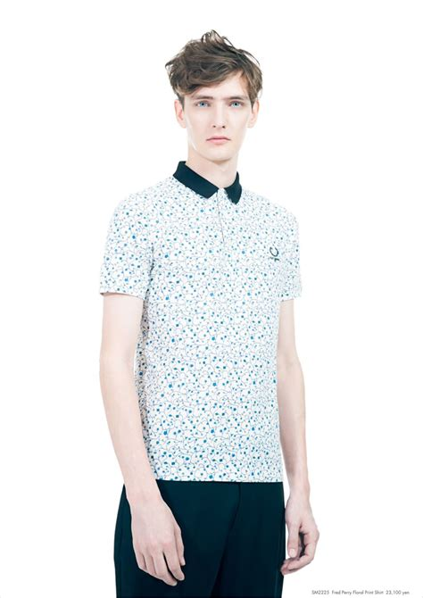 yannick abrath for raf simons 215 fred perry summer 2013