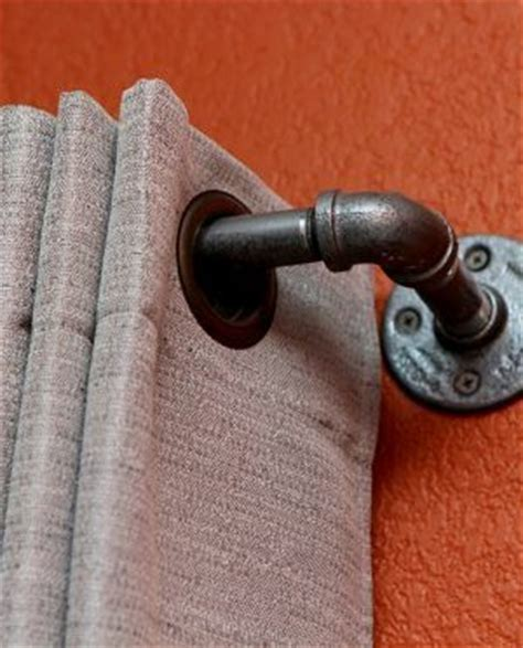 metal pipe curtain rod best 25 metal pipe ideas on pinterest shelves with