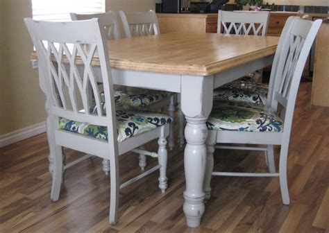 refinishing a kitchen table