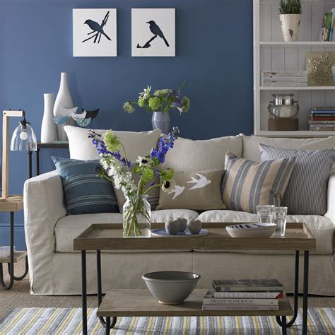 Blue And White Living Room Living Room Design Blue White by Living Room Paint Ideas To Transform Any Space Ideal Home