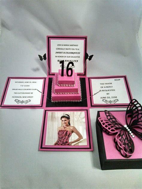 Handmade Sweet 16 Invitations - 348 best images about tarjetas primera comunion on