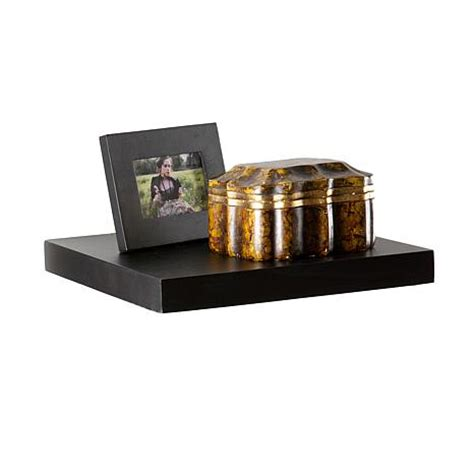 10 Floating Shelf by Assissi 10 Quot Floating Shelf Black 7230326 Hsn