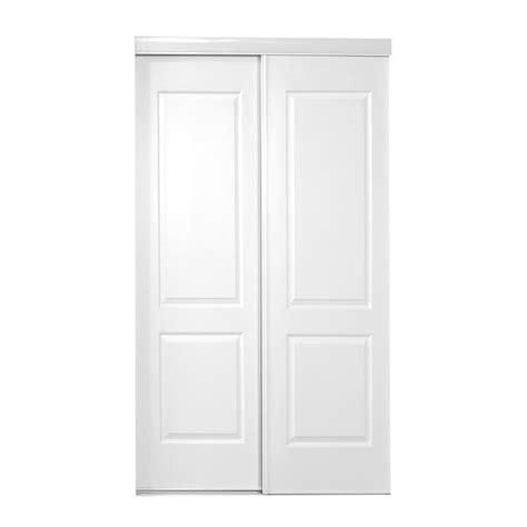 Truporte Closet Doors Truporte 48 In X 80 In 120 Series Steel Silver Mirror Sliding Door 340004 The Home Depot