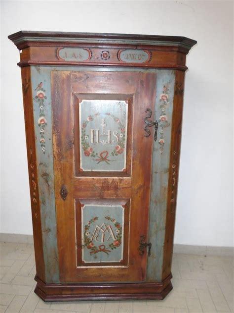 armadi antichi vendita armadio dipinto prov osttirol antichit 224 evelina