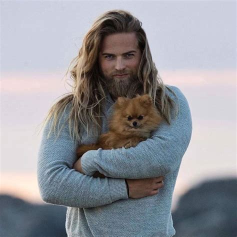 what kind of heat l for bearded real vikings are kind to animals lasse l matberg www