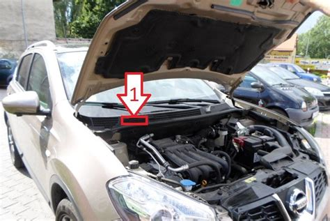 nissan x trail vin number nissan qashqai 2007 2013 vin location where is