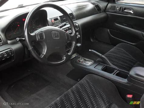 Prelude Interior black interior 1999 honda prelude standard prelude model