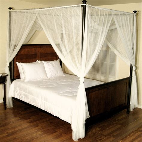 furniture appealing white canopy for bed design founded