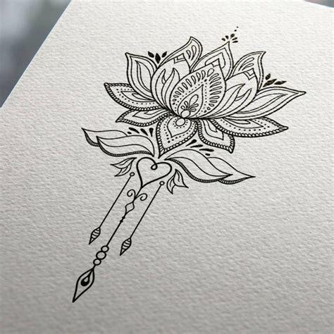 tatuaggi con fiore di loto 1001 idee per tatuaggi mandala immagini a cui ispirarsi