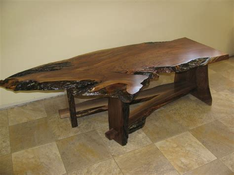 Walnut Slab Coffee Table Walnut Slab Coffee Table 3 Coffee Tables Other Metro By Perry Creek Woodworking Inc